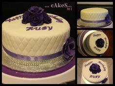 Purple Themed Cake!