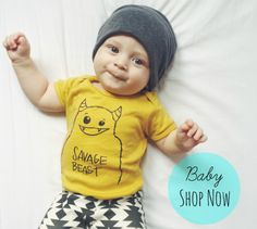 Savage Seeds: Handmade & Eco Friendly Clothing & Toys for Modern Kids.
