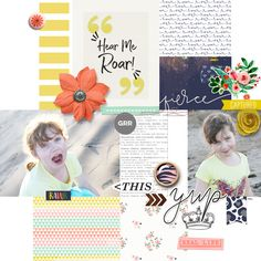 You guys...I am so excited to share this Months Memory Pockets Monthly collection, add-ons and amazing layouts with you!!! This month's collection, Roar, includes themes of bravery, empowerment, and just being enough. It features a beautiful color palette of greens and blues with pops of orange and yellow. This collection is so versatile. It is perfect for scrapbooking everyday moments, for pocket style scrapbooking and hybrid scrapbooking with PDFs of all…
