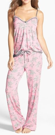 lace trim camisole pajamas  http://rstyle.me/n/msebnpdpe