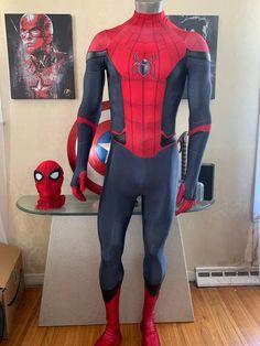 Superhero Costumes For Men, Kids Spiderman Costume, Spiderman Suits, Kids Costumes Boys, Halloween Costumes For Kids, Spiderman Cosplay, Spider Man Halloween, Spider Man 2, Thor Costume