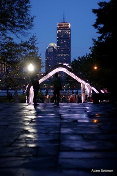 Boston - View of the Pru from MIT's Fast Light by atsolo, via Flickr