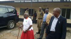 #Uganda #Kasese massacre - King #Mumbere's mother storms Kasese police station