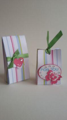 Miniboxen für ein kleines Schmuckstück oder Süßes oder ......
