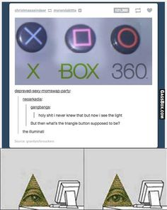 Microsoft is illuminati confirmed #funny #meme #tumblr