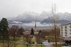 Bad Ragaz, winter. Switzerland