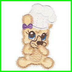 Wannabe Bears 4x4 hoop - Free machine embroidery designs - Kreative Kiwi