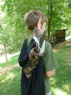 The Enchanted Tree- quiver and elf ears!