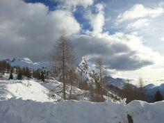 Che bel sciare in codesti luoghi. Anche per chi ha paura