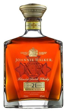 Johnnie Walker XR - Aged 21 Years - Blended Scotch Whisky ( I have this one ) Cigars And Whiskey, Scotch Whiskey, Bourbon Whiskey, Whiskey Bottle, Bourbon Drinks, Irish Whiskey, Whiskey Girl, Liquor Drinks, Tequila