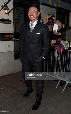 Luke Evans attends GBR; Weinstein X Grey Goose Pre- Bafta Party on February 12, 2016 in London, England.