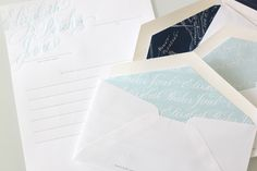 calligraphy letterpress
