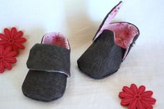 Couture : chaussons pour bébé.