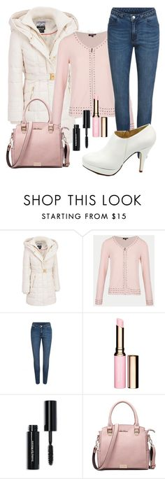 """Rose et blanc"" by delphine-delphe on Polyvore featuring mode, Kensie et Bobbi Brown Cosmetics"