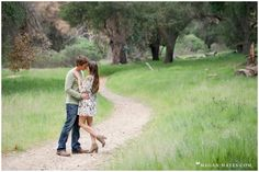 Santa Clarita Wedding Photographer - Megan Hayes - Engagement Photography