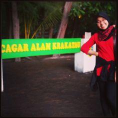 Cagar Alam Krakatau. Lampung