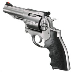 Ruger Redhawk .44Magnum, Stainless with pebbled Hogue grip - No exception to the Ruger rule, It's built like a tank. My favorite wheel gun.