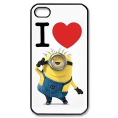 Despicable Me Minion iPhone 4 4s Case Hard Plasti ($13.88)