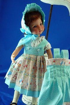 """For Effner Little Darling """"Beatrix Potter"""" Play Set SWEET CM"""