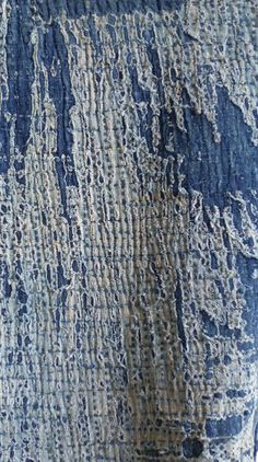 Sri - Japanese folks textile. I like the use of texture in this fabric as it creates more of an interesting piece.