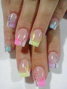 Image via  Unique Nail Designs   Image via  Romantic Unique Nail Art Designs   Image via  Most PopularUnique Nail Design Ideas   Image via  Feathers Unique Nail   Image via  B