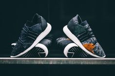Adidas Equipment is reinvented in modern-day sneaker technology.
