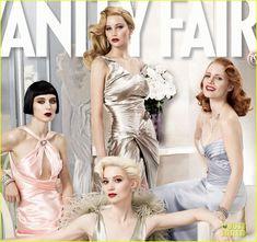 Jessica Chastain, Rooney Mara, Jennifer Lawrence, Mia Wasikowska....J Law looks so pretty;P