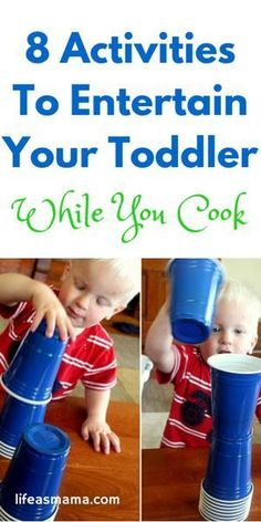 8 Activities To Entertain Your Toddler While You Cook