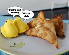 Fried Peeps Wontons