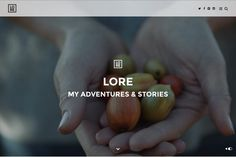 Lore - A Theme For Your Stories by MeanThemes on Creative Market