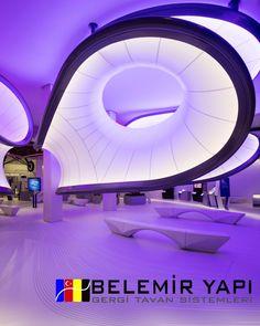 Stretch Ceiling Systems Deoration Barrisol Kosovo ⋆ Gergi Tavan Modeli