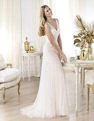 Pronovias te presenta el vestido de novia Landra. Fashion 2014.   Pronovias