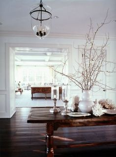 Love this entryway/foyer. The table is set up beautifully. by Gregg Nordin