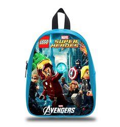 91358996a1ba Avengers lego - Emmet Schoolbag    Backpack   S M L   Kids