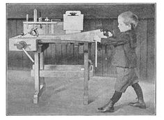 Elementary Sloyd Training in traditional woodworking techniques