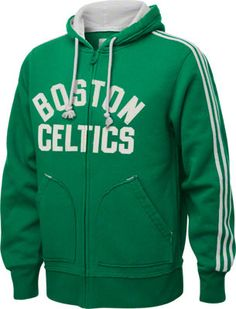 Boston Celtics Green adidas Springfield Originals Full-Zip Hooded Fleece  Sweatshirt Celtics Apparel eb6c48f83