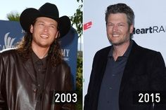 Then and Now: Country Stars - Blake Shelton