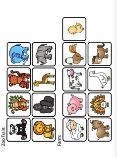 Farm Activities, Toddler Learning Activities, Animal Activities, Language Activities, Educational Activities, Teaching Kids, Spy Games For Kids, Matching Games For Toddlers, Teaching Colors