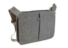 Messenger Bag with PC and iPad case - Bellows - NAVA