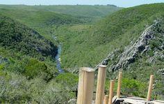Quebrada de los Cuervos, Trenta y Tres, panorama del mirador. Probably Uruguay's most beautiful national park.
