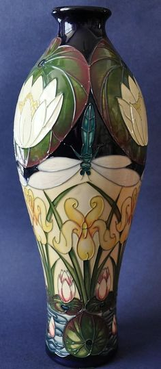 74 Best Moorcroft images in 2018 | Bulb vase, Flowers vase, Jars