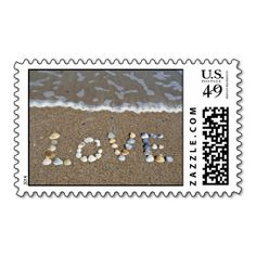 Love on the beach postage stamp This DealsReview on the This website by click the button below...
