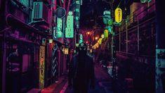 [Photos] Photographer Highlights Tokyo's Surrealistic Neon-Lit Nightscape - Saigoneer