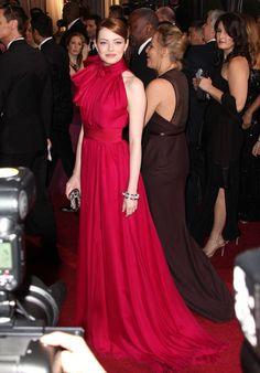 Emma Stone Photos - The 84th Academy Award Arrivals: Red Carpet - Zimbio