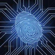 Fingerprint Electronics by nrey fingerprint identification system electronics scheme Vector Design, Graphic Design, Technology Photos, Computer Chip, Pin Up Posters, Light Background Images, Live Wallpaper Iphone, Universe Art, Moon Art