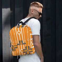 Backpack sold by Love . Shop more products from Love on Storenvy, the home of independent small businesses all over the world. Are You The One, Take That, Sports Activities, Fashion Backpack, Pattern Design, Gym Bag, Print Patterns, Laptop, Weather
