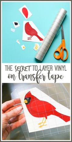 the SECRET to layer viyl on transfer tape – this is a great tip! Layering Vinyl Decals – – Sugar Bee Crafts and Silhouette Projects Bee Crafts, Vinyl Crafts, Kids Crafts, Cricket Crafts, Diy Vinyl Projects, Kids Diy, Decor Crafts, Easy Crafts, Inkscape Tutorials