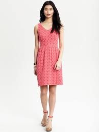 coral eyelet dresses - Google Search