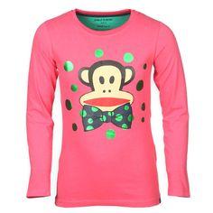 PaulFrank Kinderkleding Online Meisjes Shirt Bow Paradise Pink Kinderkleding, Kindermode en Babykleding www.kienk.nl