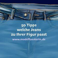 Jeans zu kaufen, ist eine Herausforderung. Nicht so sehr, wenn Sie wissen: Welche Jeans passt zu welcher Figur? Ein Ratgeber für jeden Figurtyp. Blue Jeans, Belt, Digital, Pattern, Outfits, Clothes, Shopping, Highlights, Pdf